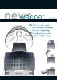 newsweener vol 01/13 - Weener Plastik GmbH