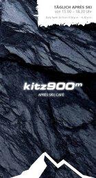 Barkarte kitz900m - Kitzsteinhorn