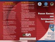 Fusion Center Information