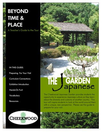 BEYOND TIME & PLACE - Cheekwood Botanical Garden and ...
