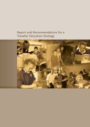 Report and Recommendations for a Traveller Education Strategy ...
