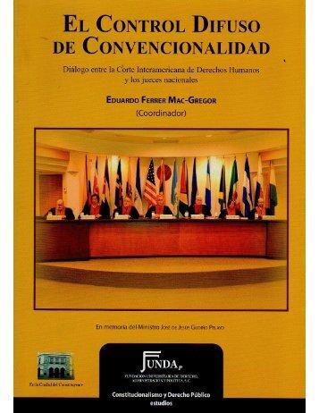 Control de convencionalidad ejercido por Tribunales y Salas ...