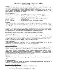 CBSE Inter School (Cluster I) Volleyball Tournament 2009- 10 ...