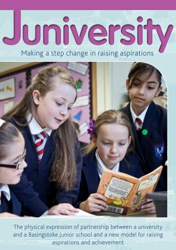 to view the Juniversity brochure - University of Winchester