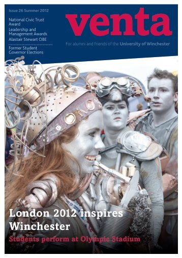 London 2012 inspires Winchester - University of Winchester
