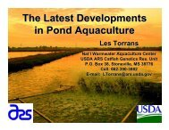 The Latest Developments in Pond Aquaculture - NCAquaculture.org