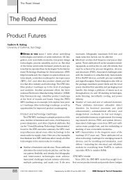 Product Futures - UCSD VLSI CAD Laboratory
