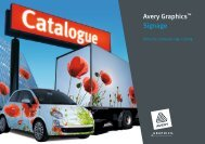 Avery Graphics™ Signage