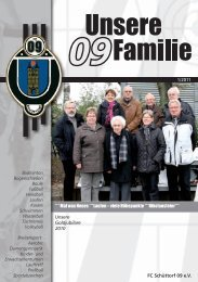 Liebe 09er - FC Schüttorf 09 eV