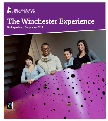 the winchester experience - University of Winchester