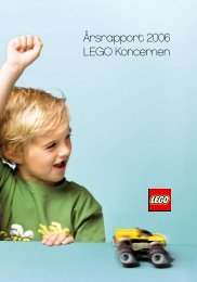 Årsrapport 2006 LEGO Koncernen