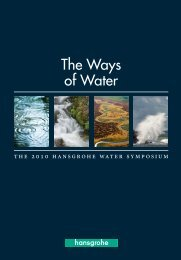 The Ways of Water - Hansgrohe