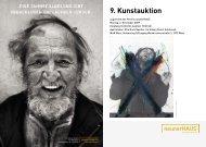 9. Kunstauktion - neunerHAUS