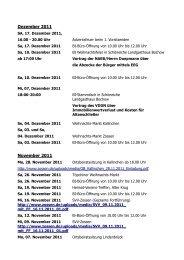 Dezember 2011 November 2011 - BI Freier Wald eV
