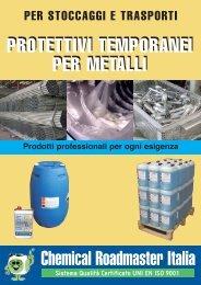 protettivi temporanei per metalli - Chemical Roadmaster Italia
