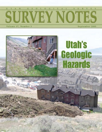 Utah's Geologic Hazards - Utah Geological Survey - Utah.gov
