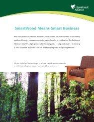 SmartWood Means Smart Business - Rainforest Alliance