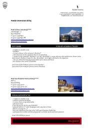 Powder Snow & Sun Skiing Package - Kitzbühel