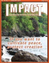 Php 70.00 Vol. 44 No. 1 • JANUARY 2010 - IMPACT Magazine Online!