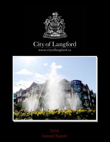2010 Annual Report - City of Langford