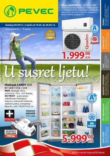 Download kataloga - Pevec