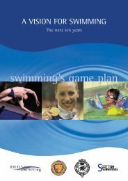 Vision for swimming - sportcentric