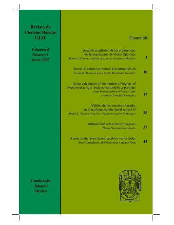 pdf 3.4Mb - Publicaciones - Universidad Juárez Autónoma de Tabasco