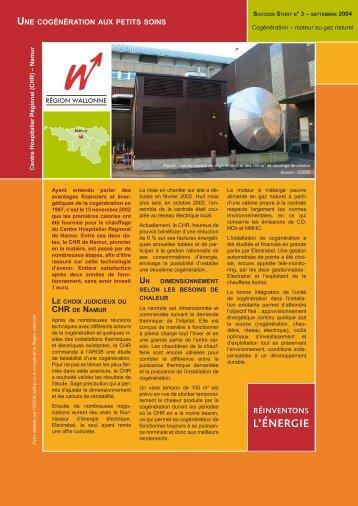 Centre Hospitalier - Energie Wallonie