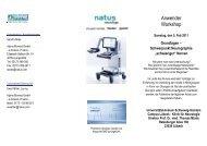 Grundlagen – Schwerpunkt Neurographie ... - Klinik für Neurologie