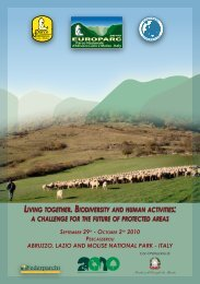 Programma in italiano - Parco Nazionale d'Abruzzo Lazio e Molise