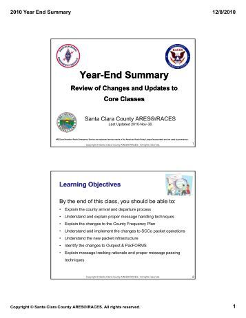 year end summary report template