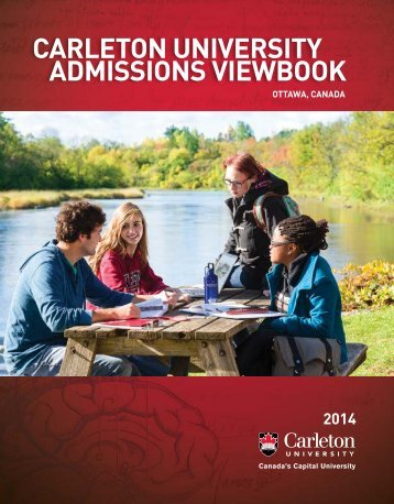 cArlETON UNIvErsITY AdmIssIONs vIEwBOOK
