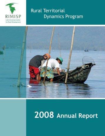2008 Annual Report - Rimisp
