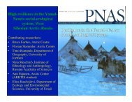 Download PDF (2.37 MB) - State of the Arctic 2010