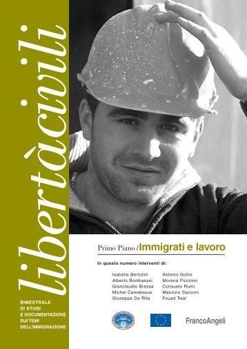 Immigrati e lavoro - libertacivili.it