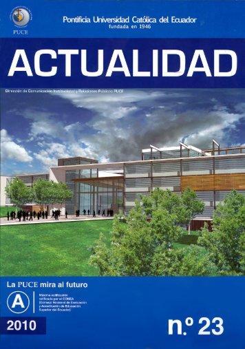 NUEVO CAMPUS PUCE - NAYÓN, Revista Actualidad n.º 23