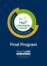 Final Program - World Allergy Organization