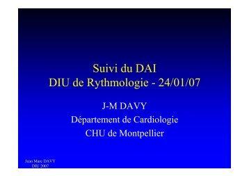 Surveillance des défibrillateurs - Collège Français de Stimulation ...
