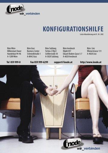 KONFIGURATIONSHILFE - inode.at