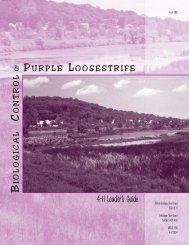 Biological Control of Purple Loosestrife, 4-H Leader's Manual