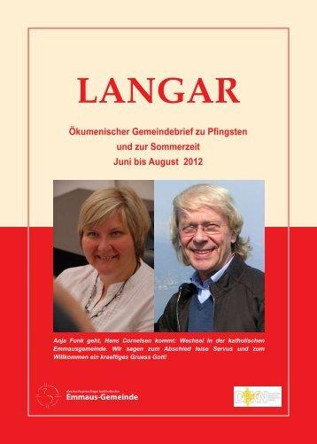 Ökum. Gemeindebrief (Nr.11, Juni - August 2012)