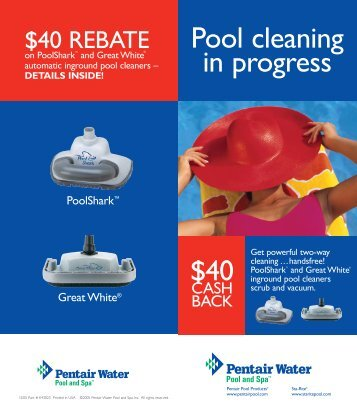 Pool cleaning in progress - Inyo Swimming Pool Products