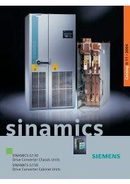 SINAMICS G150 - MAWOS Sp. z o.o.