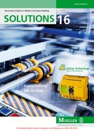 Moeller Solutions 16 - Moeller Electric Parts