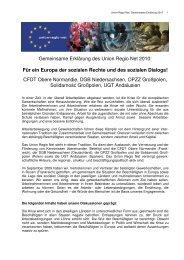 Gemeinsame Erklärung 2010 - Bernd Lange