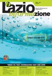 Stampa Layout 1 - Agricoltura - Regione Lazio