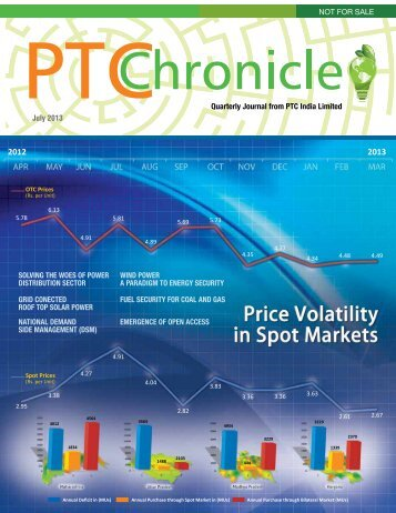 July 2013 Quarterly Journal from PTC India Limited NOT FOR SALE ...
