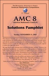 Solutions Pamphlet