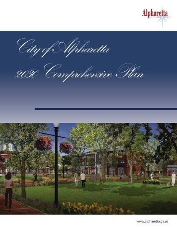 City of Alpharetta 2030 Comprehensive Plan_v3covers_PH.indd