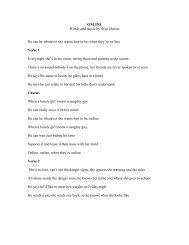 Download song lyrics: 'ONLINE' by Wyn Davies - Kidsmart